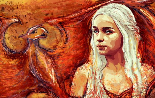 Blonde Daenerys Targaryen  Emilia Clarke 4k Ultra HD Wallpaper