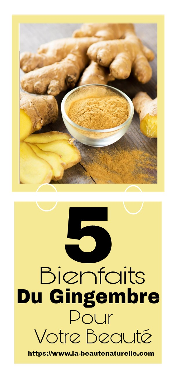5 Ginger Benefits For Your Beauty