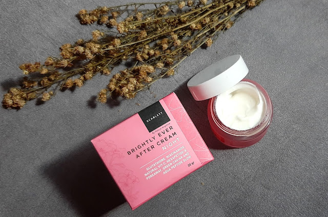 Scarlett-Brightly-Ever-After-Cream-Night-Review