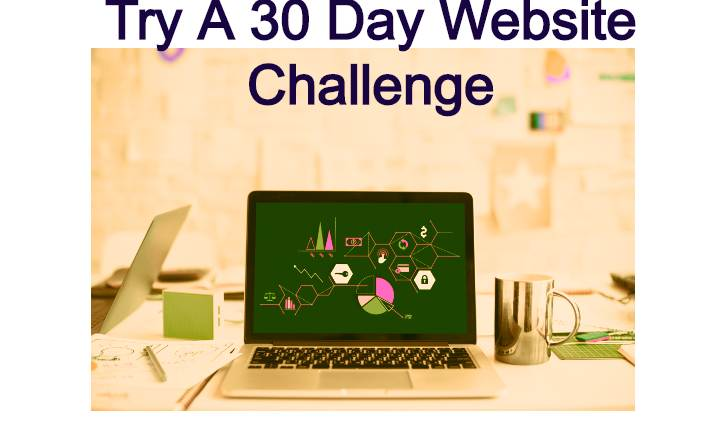Try A 30 Day Website Challenge