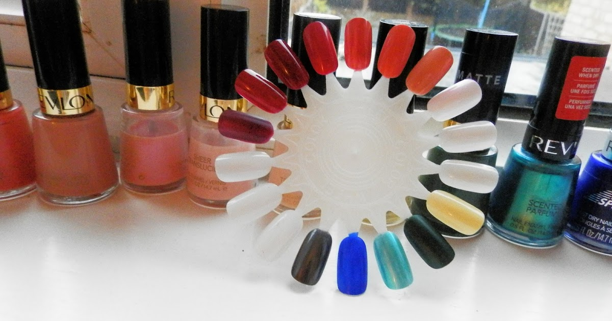 A Sprinkling Of Euphoria My Revlon Nail Polish Collection