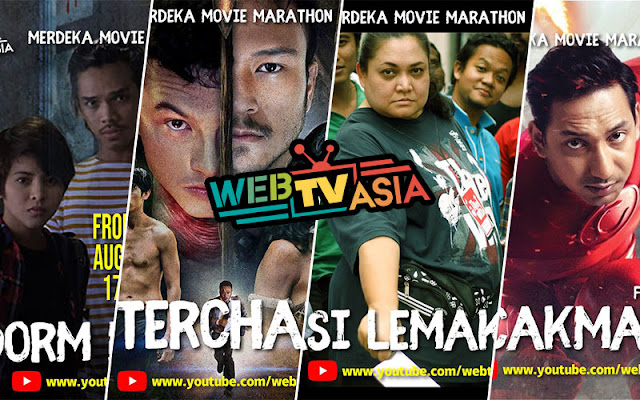 Sempena Bulan Kemerdekaan Youtube WebTV Asia Belanja 50 Buah Filem Tempatan Secara Percuma