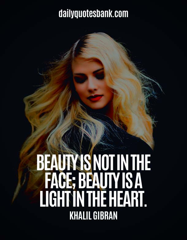 Beautiful Quotes About Simple Beauty Of Face