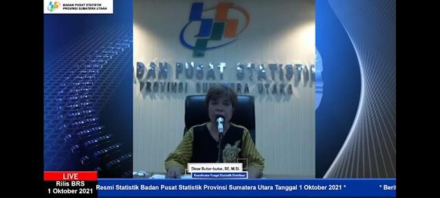 September, Medan Inflasi 0,31%