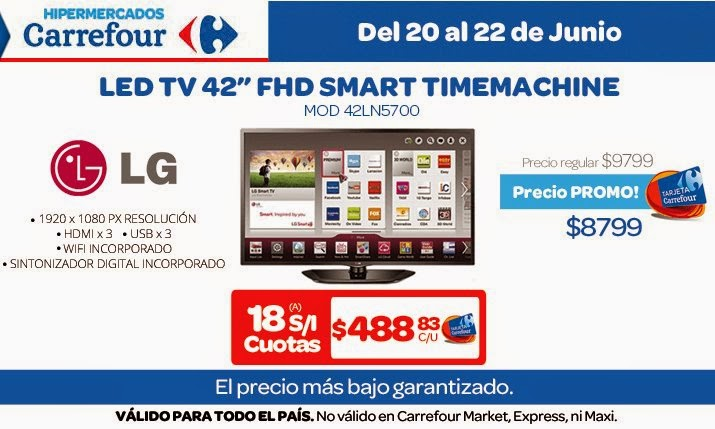 tecno promos argentina promos carrefour electro. Black Bedroom Furniture Sets. Home Design Ideas