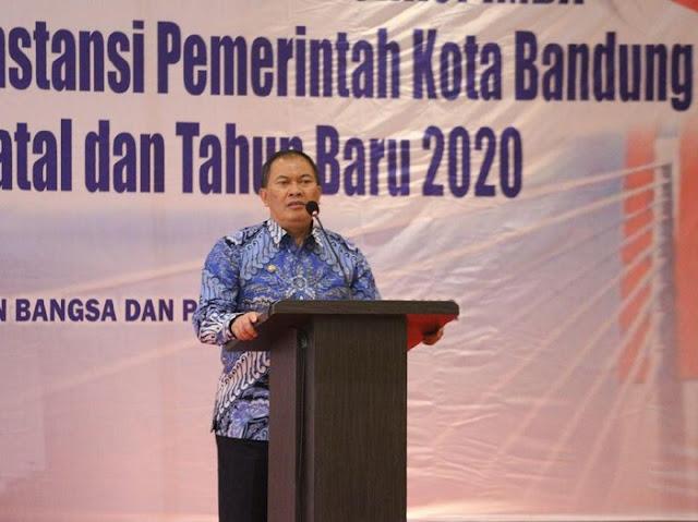 Wali Kota imbau warga Bandung tak berhura-hura saat malam pergantian tahun 2020