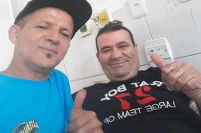 Brumado: Radialista Beto Mendes se recupera bem e continua internado no hospital municipal