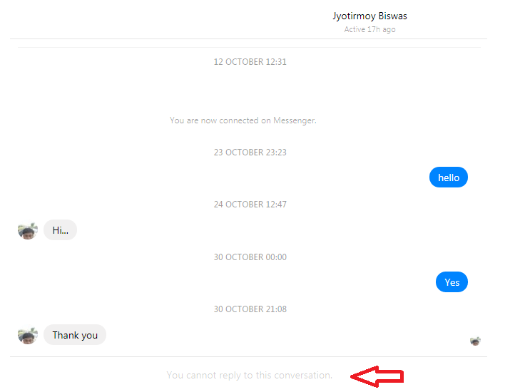 Know if Someone Blocked Your Messages or Facebook Profile