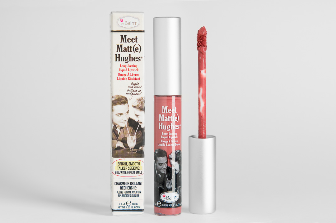 theBalm Meet Matt(e) Hughes Liquid Lipstick Committed