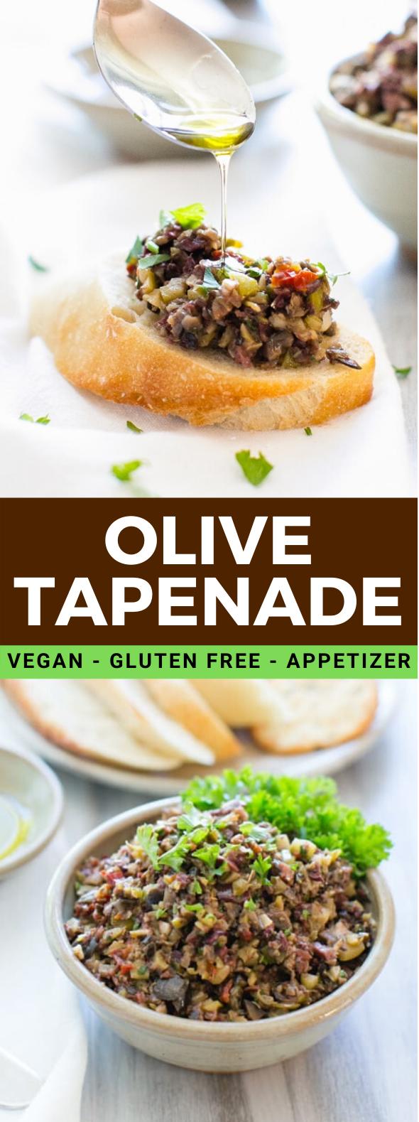 OLIVE TAPENADE #vegan #glutenfree