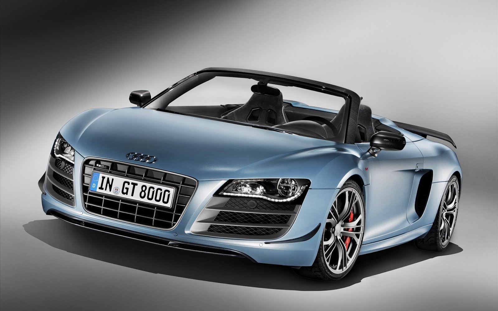 Wallpaper Collections: 2012 Audi R8 GT Spyder