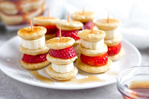 How to make a pancake shish