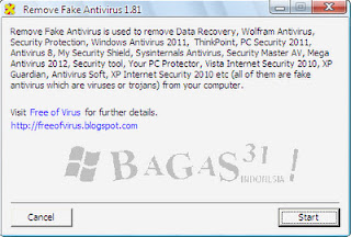 Remove Fake Antivirus 1.81 2