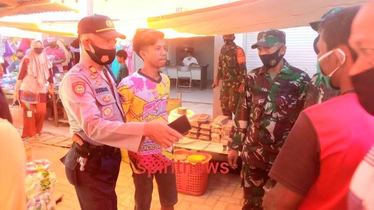 Polsek Marbo Di Hari Ke-3, Menjaring 174 Orang Tidak Memakai Masker