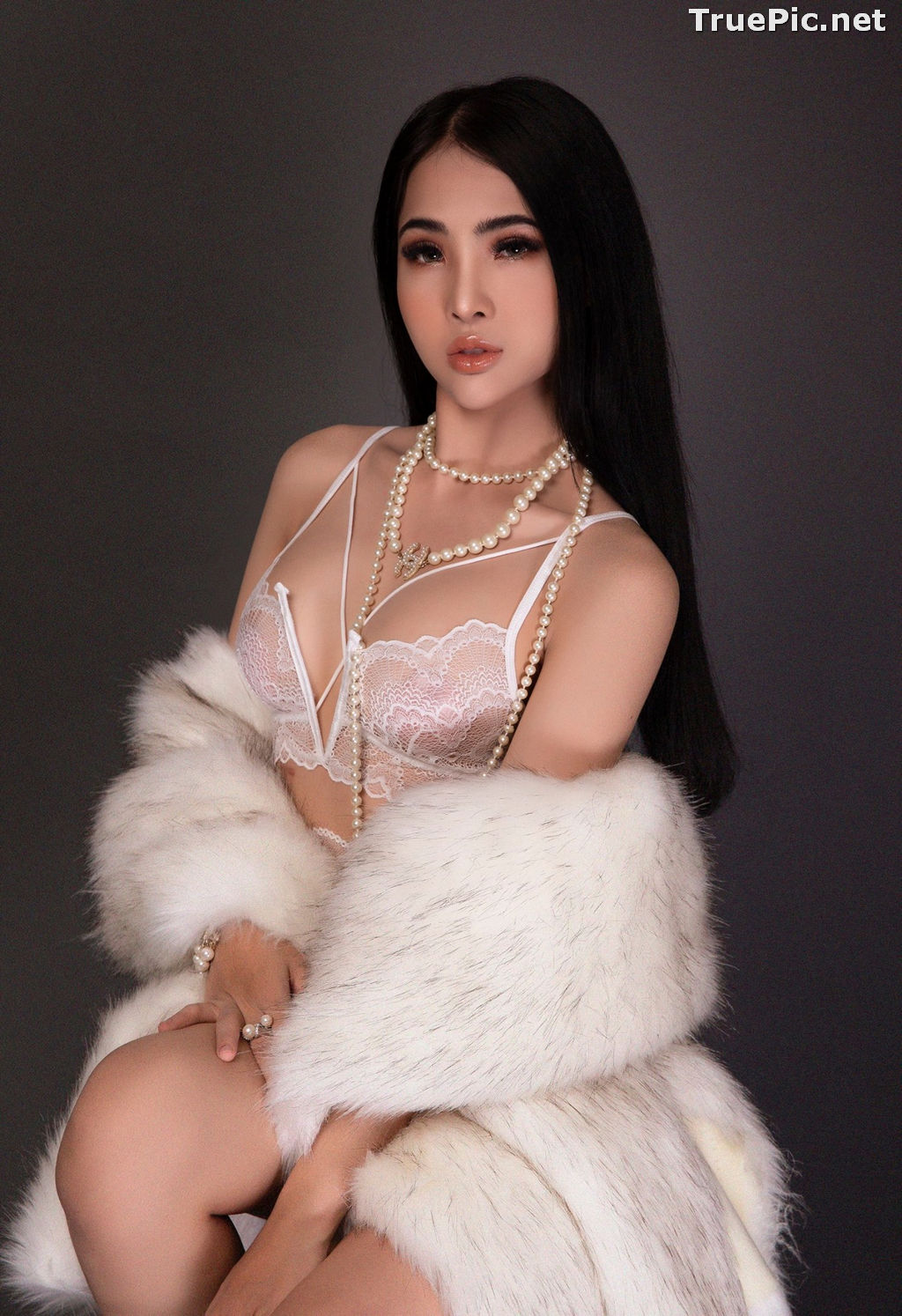 Image Vietnamese Model - Hot Beautiful Girls In White Collection - TruePic.net - Picture-4
