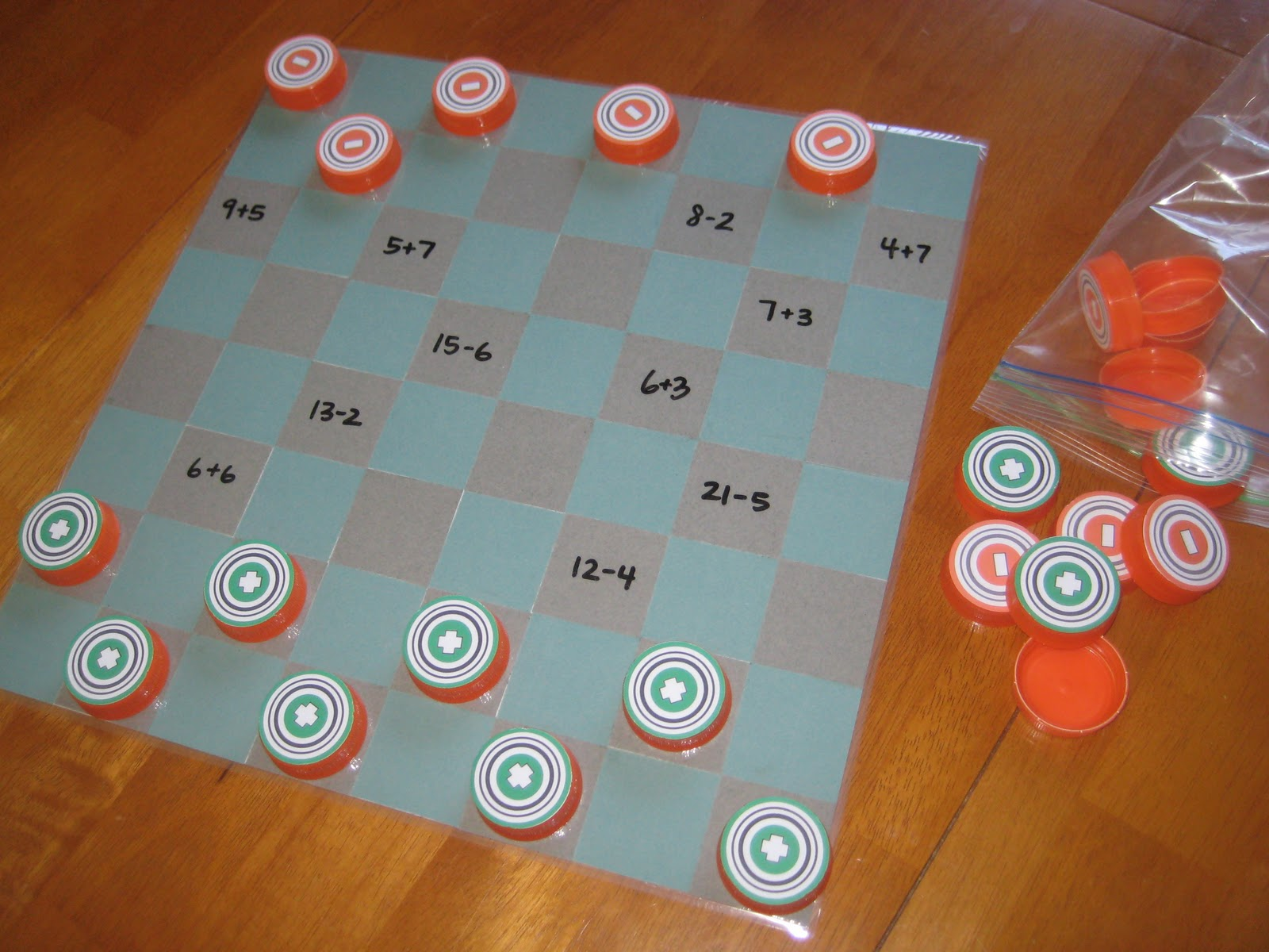 Relentlessly Fun, Deceptively Educational: DIY Checkers (with ...
