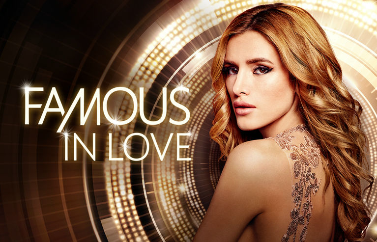 Póster de 'Famous in Love', serie de Freeform