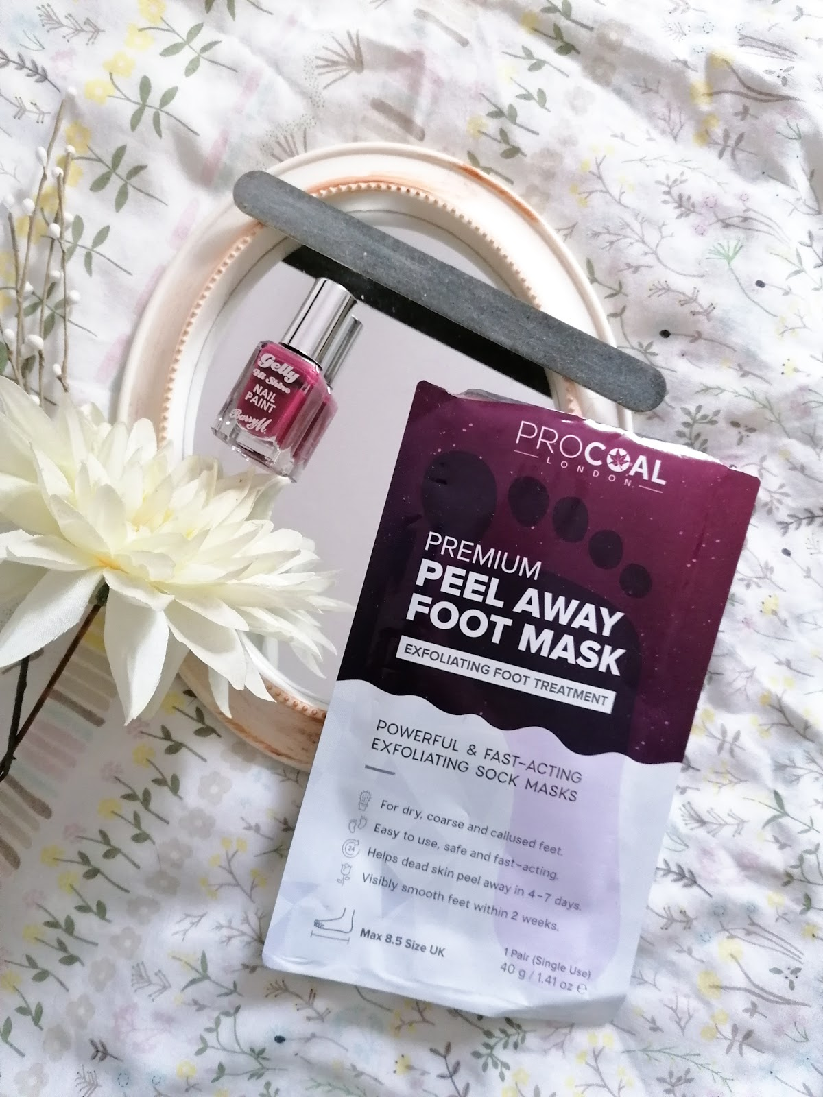Procoal premium peel away foot mask review