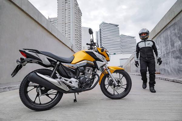 Honda CG 160 2022 - Titan - Amarelo