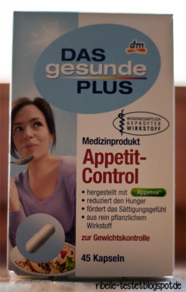 Ribelle Testet Appetit Control Von Dm Ein Selbstversuch