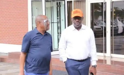 Gov. Nyesom Wike Caught On Camera Insulting Obaseki (Video)