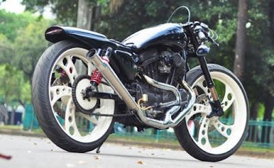 Foto Modifikasi Harley Davidson Sportster 883 Apik