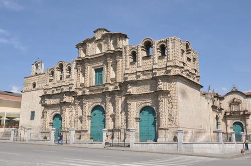 La Catedral de Cajamarca, Perú