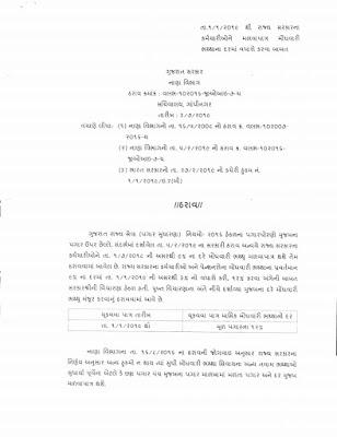 01/01/2019 Thi Rajya Sarkar Na KarmacharineMalva Patra Moghvari Bhathha Dar Ma Vadharo Karva Babat 03/07/2019 No Paripatra.