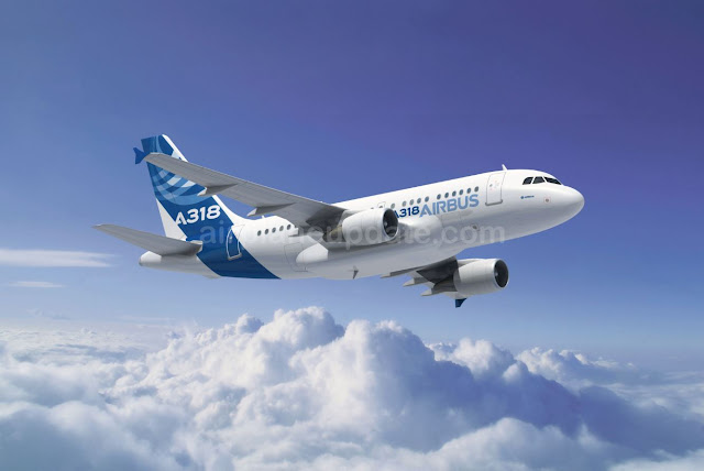 Airbus A318 Jetliner