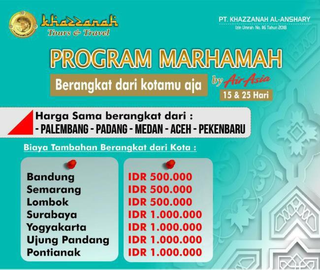 KH Program Marhamah
