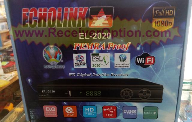 ECHOLINK EL-2020 PEMRA PROOF HD RECEIVER NEW SOFTWARE