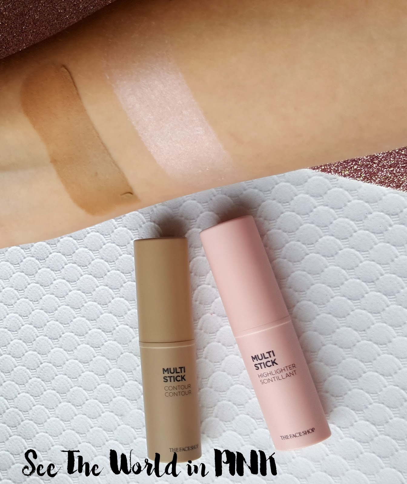 Makeup Multisticks - Highlight and Contour with THE FACE SHOP