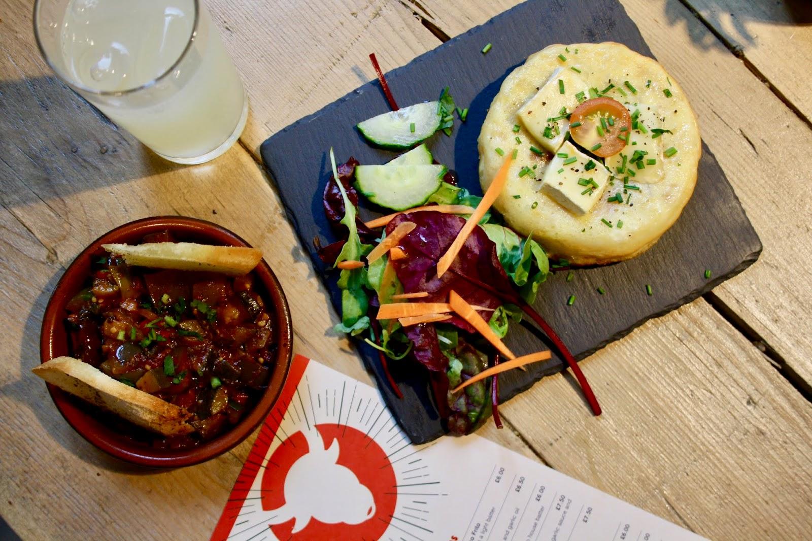 Rico Libre tapas Birmingham review Pisto tortilla de patatas