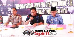 Kapolda Sulsel,Tegaskkan Oknum Anggota Polri Terlibat Kasus Narkoba Akan di Pecat