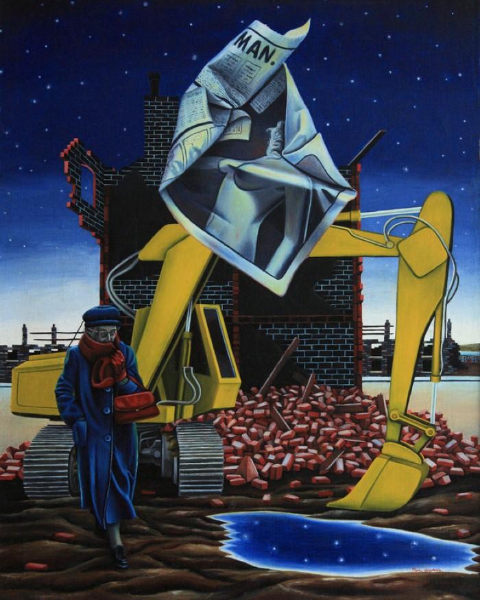 Талантливый британский художник. Paul Wilson 7