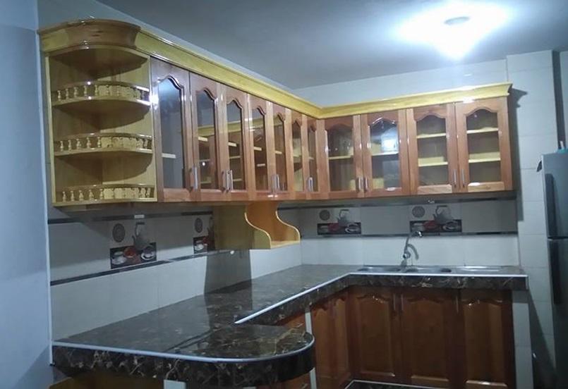 Cocina Entre Olivos | Repostero Para Cocina En Los Olivos Carpintero En Lima