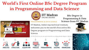 IIT Madras Launches online Courses BSc Degree Program in Programming and Data Science Offers Admissions /2020/07/IIT-Madras-Launches-online-Courses-BSc-Degree-Program-in-Programming-and-Data-Science-Offers-Admissions.html