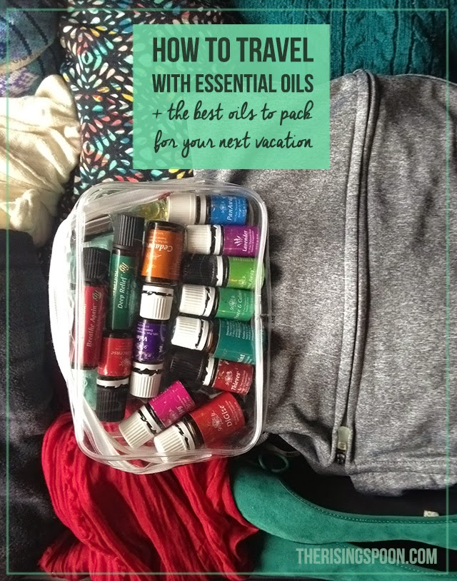 How to Travel with Essential Oils + The Best Oils to Pack For Your Trip