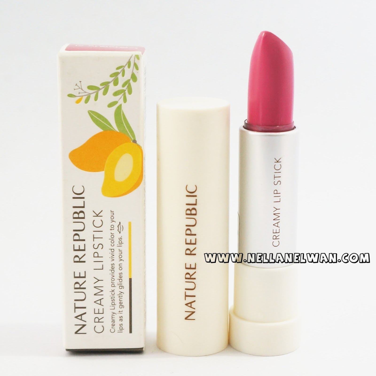 nature republic creamy lipstick review beauty blogger