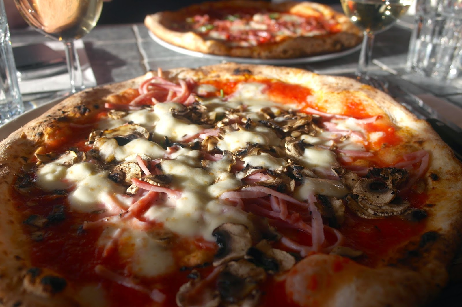 "Santa Maria ""London's Best"" Pizza"