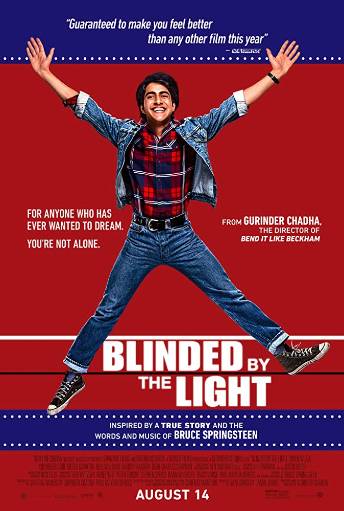 "Movie Review: ""Blinded by the Light"" (2019)"