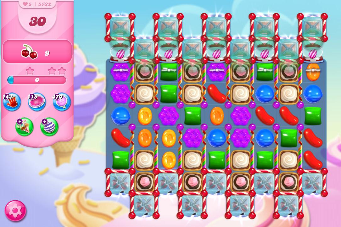 Candy Crush Saga level 5722