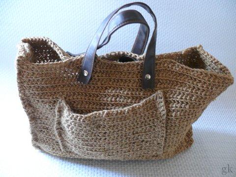 Gk Kreativ Tasche Aus Paketschnur