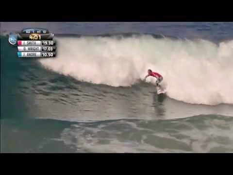 Jordy Smith Perfect 10 at Jeffreys Bay