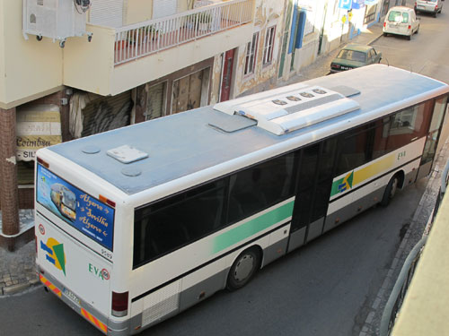 Buses in the Algarve, Portugal