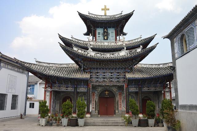 Eglise à Dali