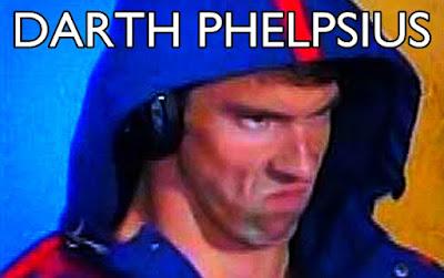 Michael Phelps stare meme