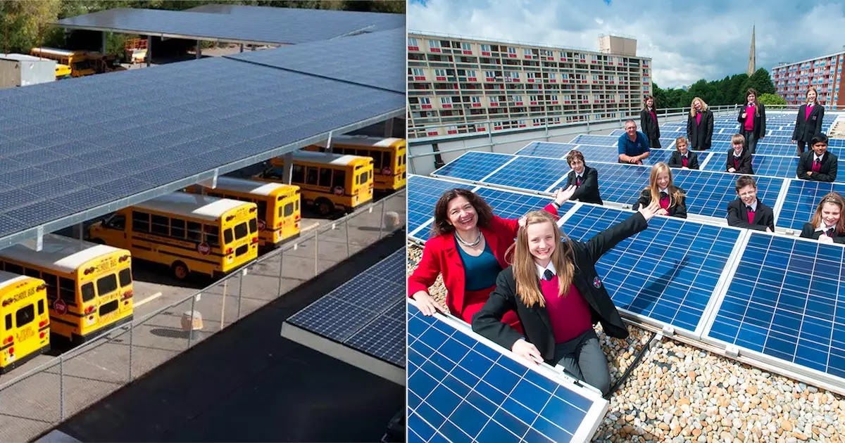 School Raises Teachers' Wages By $15,000 From Energy Savings After Installing Solar Panels