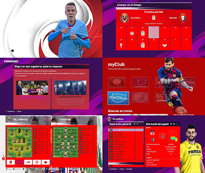 PES 2020 New Menu ML La Liga Santander by xcdf86