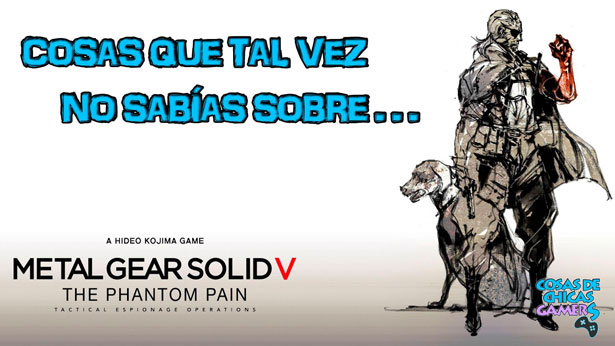 Curiosidades sobre Metal Gear Solid 5 V